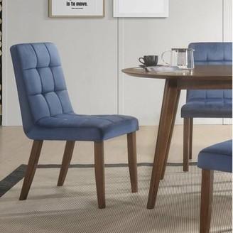 Brayden Studio Singleton Tufted Upholstered Dining Chair Brayden Studio
