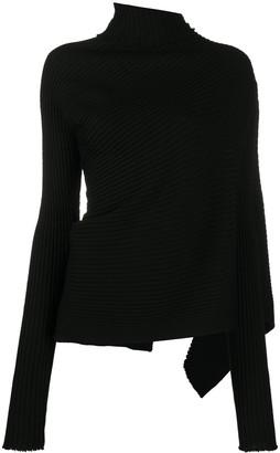 Marques Almeida Asymmetric Knit Top