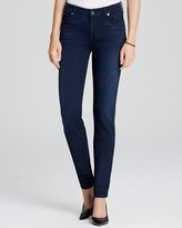 7 For All Mankind Jeans - The Slim Illusion Luxe Skinny in Rich Blue