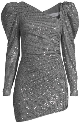 Fame & Partners The Jade Embellished Dress