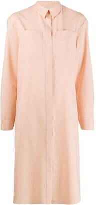 Maison Rabih Kayrouz Chest Pocket Shirt Dress