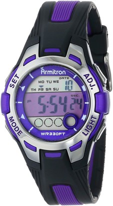 Armitron Sport Women's 45/7030PNK Pink and Black Digital Watch