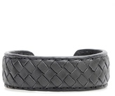 Bottega Veneta Intrecciato Leather Cuff