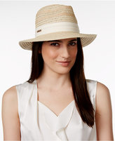 Vince Camuto Striped Fedora