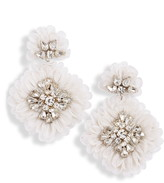Mignonne Gavigan Mila Silk Organza Statement Earrings