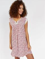 Fat Face Una Patchwork Print Dress