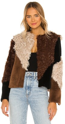 Elliatt Rapallo Fur Jacket. - size S (also