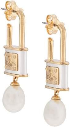 Vivienne Westwood Luna Drop earrings