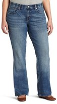 Levi's Women's Plus-Size 525 Perfect Waist Boot Cut Jean