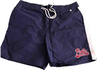 Polo Ralph Lauren Blue Cotton - elasthane Swimwear