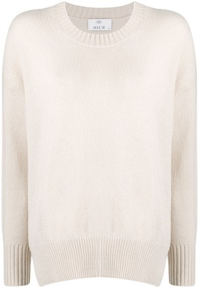 Allude Cashmere Long-Sleeve Jumper