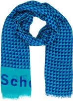 Proenza Schouler Logo-Accented Printed Scarf