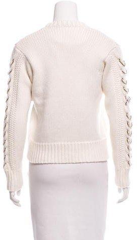 Edun Embellished Wool Sweater