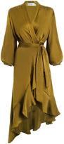 Zimmermann Wrap Flounce Dress