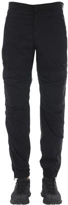 Nemen Nylon Flight Cargo Jogging Pants W/ Zips
