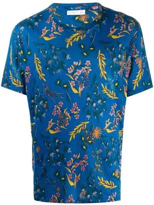 Etro paisley-print linen T-shirt
