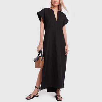 Matteau Long Poncho with Belt Dress