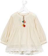 Pero Kids - flared blouse - kids - Cotton/Silk - 4 yrs