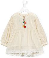 Pero Kids - flared blouse - kids - Silk/Cotton - 4 yrs