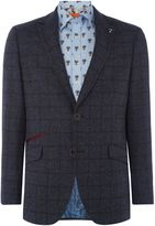 Simon Carter Sb2 Ff Sharkskin Slim Fit Suit