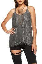Chaser Magnet Lace Tank