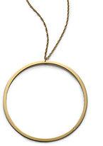 Jennifer Zeuner Jewelry Circle Pendant Necklace