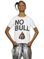 """Ashish No Bull"""" Sequined Cotton Top"""