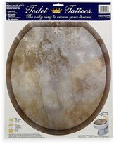 Bed Bath & Beyond Toilet Tattoos® Silver Stone in Round