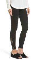 Lush Women's Lace-Up Grommet Legging