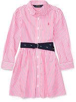 Ralph Lauren 2-6X Striped Cotton Shirtdress