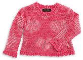 Jessica Simpson Girls 7-16 Marled Metallic Sweater
