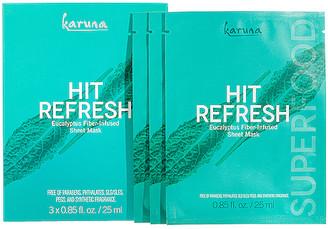Karuna Hit Refresh Sheet Mask 3 Pack