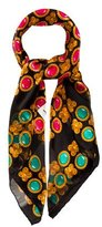 Saint Laurent Silk Printed Scarf