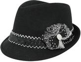 Nadya's Closet Sequin Band Fedora Hat