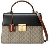 Gucci Padlock GG Supreme top handle bag