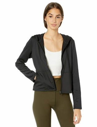 Skechers Women's Revival Full Zip Cropped Hooded Jacket