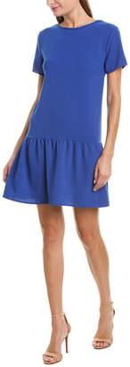 Rosewater Remi Ruffle Hem Shift Dress