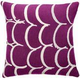 Judy Ross Textiles Bangle Claret/Cream Pillow