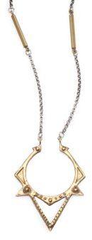 Bing Bang Sun Spike Pendant Necklace
