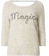 Dorothy Perkins Womens **Only Grey 3/4 Sleeve Magic Sweat Top- Grey