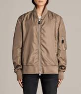 AllSaints Myra Bomber Jacket