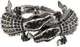 Kenneth Jay Lane Double Lizard Crystal Cuff