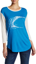 Volcom Far Out 3/4 Sleeve Graphic Tee