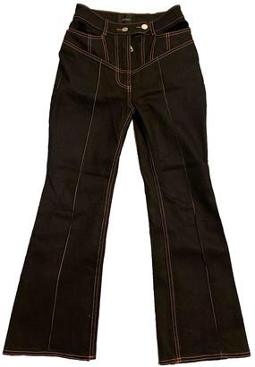 Ellery Black Cotton - elasthane Jeans for Women