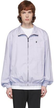 Xander Zhou Blue 3 Patch Jacket