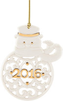 Lenox Annual 2016 A Year to Remember Snowman Ornament