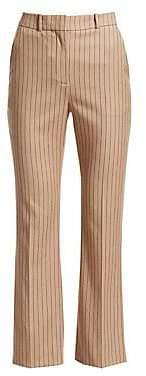 Altuzarra Women's Adler Cropped Pinstripe Pants