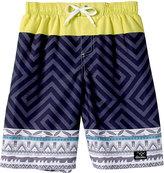 Big Chill Black Mantis & Yellow Board Shorts - Toddler & Boys