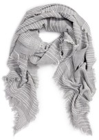 BP Women's Dotted Stripe Scarf