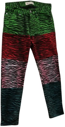 Kenzo X H&m Multicolour Cotton Jeans for Women
